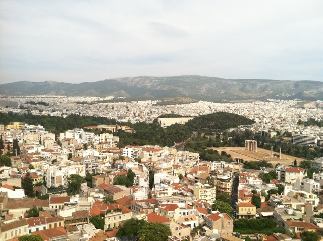 Athens from Mount Lycabettus