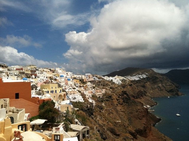 View of Oia